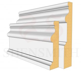 2059 MDF Skirting Board