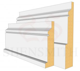 Hazel MDF Skirting Board