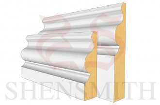 Ogee 5 MDF Skirting Board