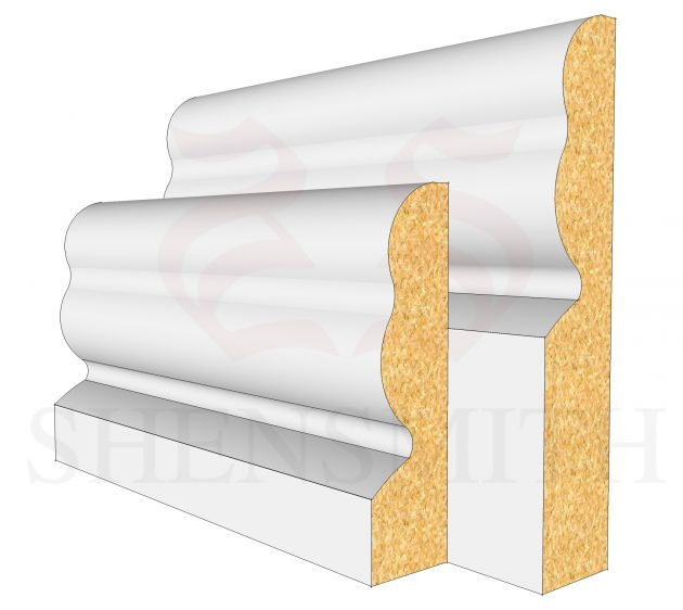2513 MDF Skirting Board
