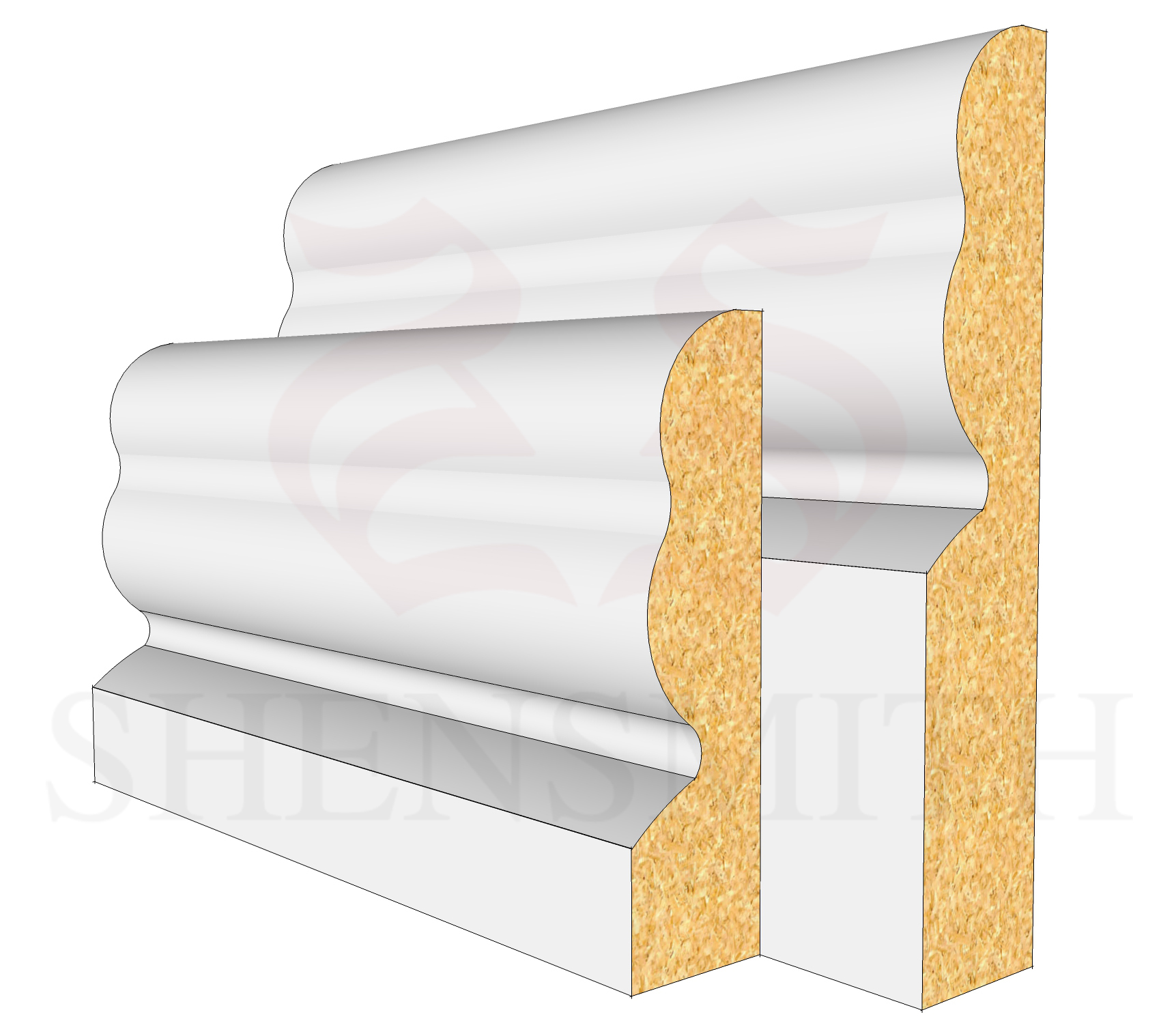 2513 Profile Skirting Board
