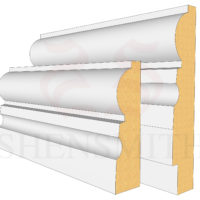 323 Profile Skirting Board