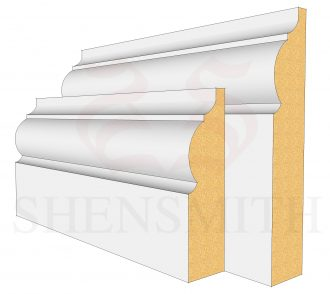 324 MDF Skirting Board