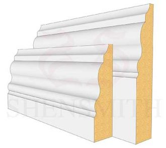 330 MDF Skirting Board