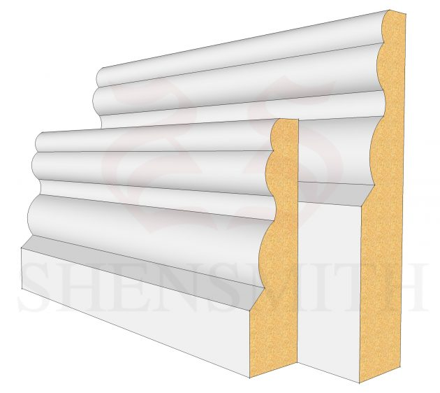 Buckingham MDF Skirting Board