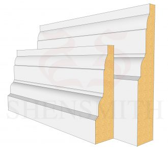 Castle Profile Skirting Board