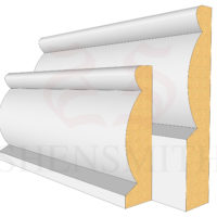 Domed Profile Skirting Board