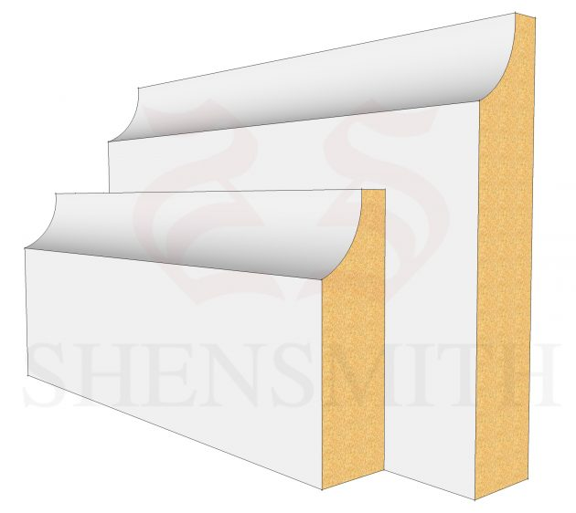 Edge MDF Skirting Boards