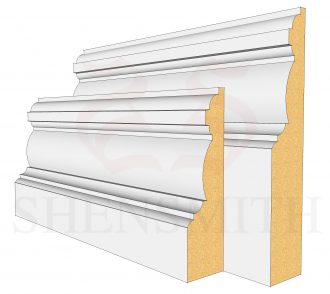 Edwardian MDF Skirting Board