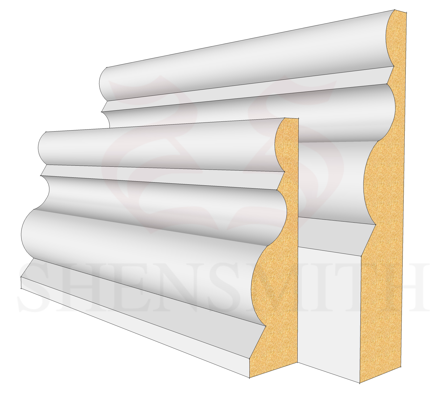 Highgrove Profile Skirting Board