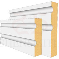Jazz 2 MDF Skirting Board
