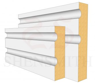 Jazz 2 Profile Skirting Board