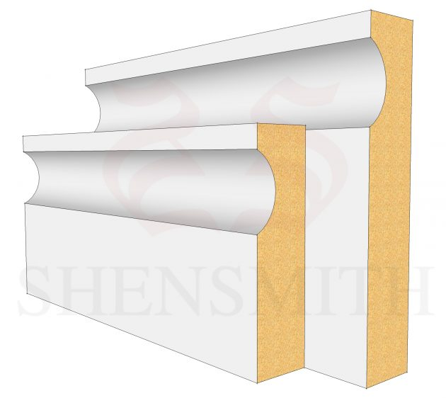Modern MDF Skirting Board