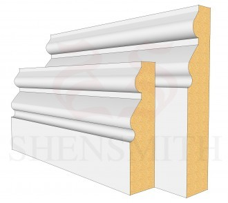 Norfolk MDF Skirting Board