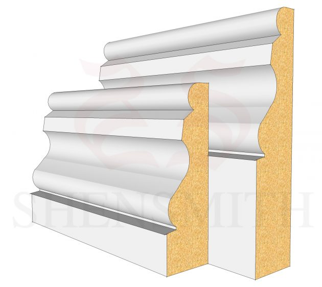 Ogee 2 MDF Skirting Board