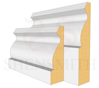 Ogee Profile Skirting Board