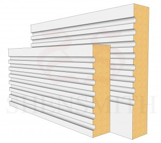 Panel MDF Skirting Board