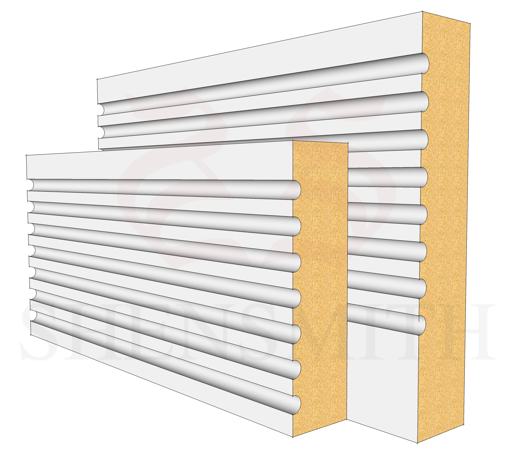 Panel Profile Skirting Board