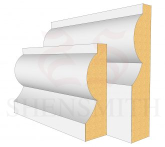 Torus Skirting Board from mdfskirtingboards.co.uk