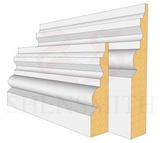 Tudor MDF Skirting Board