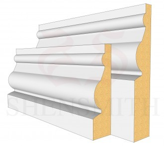 Ward MDF Skirting Board