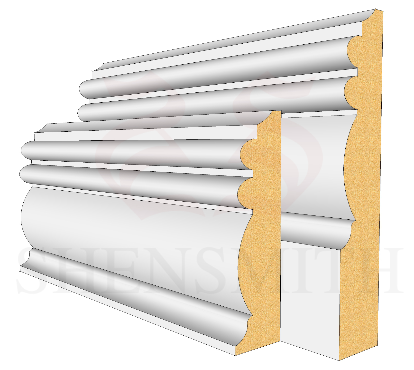 Winchester Profile Skirting Board
