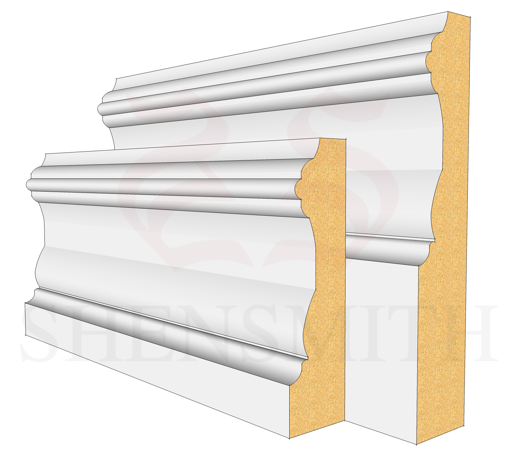 Windsor Profile Skirting Board