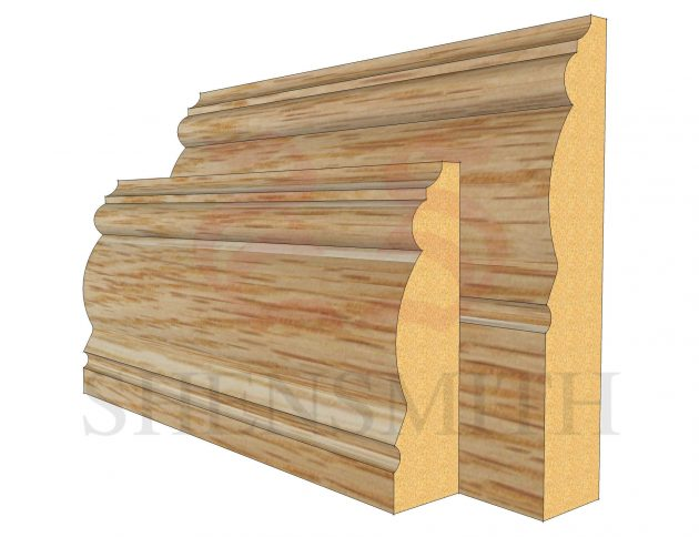 2305 Oak Skirting Board