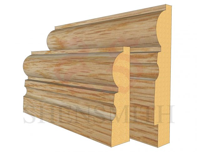 323 Oak Skirting Board