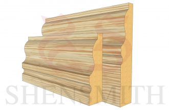 327 Pine Skirting Board