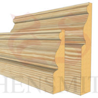 ayelsbury profile Pine Skirting Board
