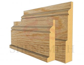 hazel Oak Skirting Board