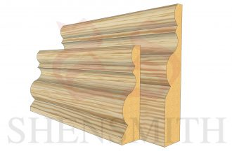 highgrove profile Pine Skirting Board