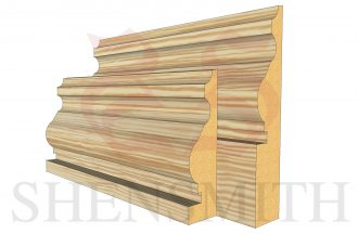 royal profile Pine Skirting Board