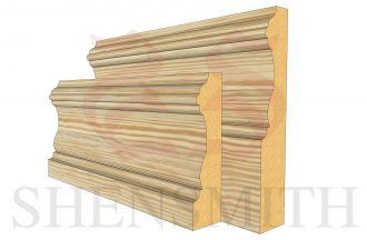 windsor profile Pine Skirting Board