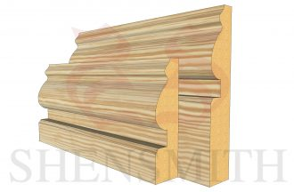 worcester profile PINE skirting board