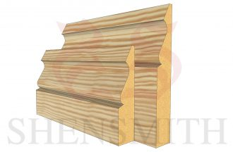Ogee 3 Pine Skirting Board thumb