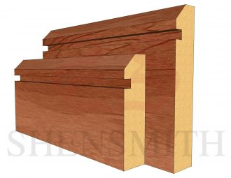 45 Rebated 1 Cherry Skirting Board
