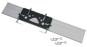 Wolfcraft-6910000-1-FKS-115-Guide-Rail-for-Circular-Hand-Saws-with-2-Clamps-1150-x-45-x-220-mm-0